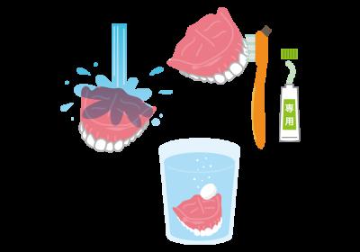 不潔な入れ歯は誤嚥性肺炎のリスクが高まる!?